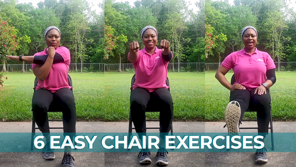 Easy-to-follow Chair Exercises