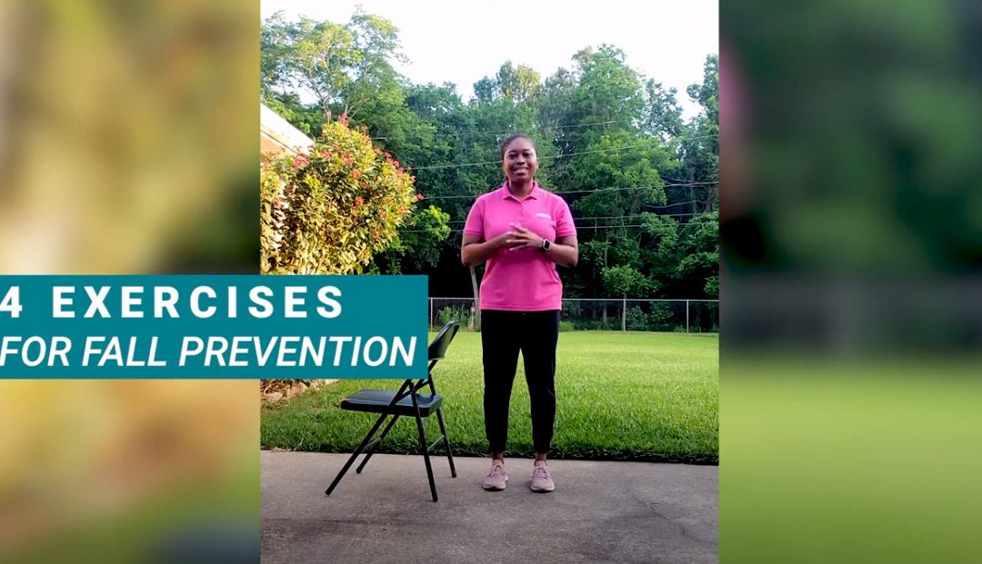 Exercises for Fall Prevention with Telly
